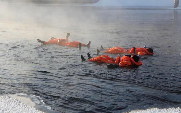 Jääkellunta SAIMAAONTHEROCKS